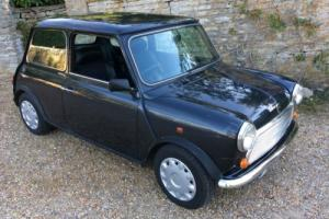 Mini Equinox edition. 1996. 1275cc In dark metallic grey.