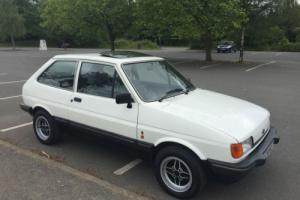 FORD FIESTA MK2 1.4 GHIA LOVELY ORIGINAL CAR GENUINE 53,000 MILES