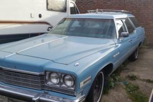 Buick estate car 1975 mot,d hotrod ratlook restomod easy project