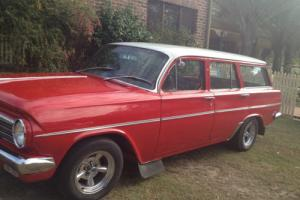 EH wagon 1964 Holden red and white Photo