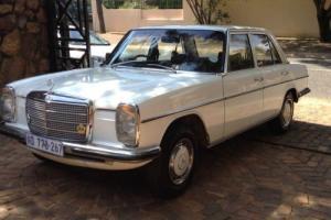 Mercedes Benz W115 280 Six cylinder 12 months mot