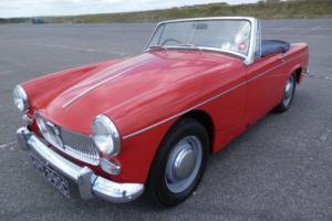 1965 MG Midget Mk2 1098cc Manual Red 60K