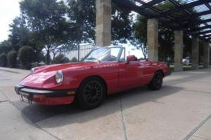 1983 Alfa Romeo Spider Veloce