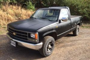 Chevrolet Silverado heavy duty 454 V8 pickup American