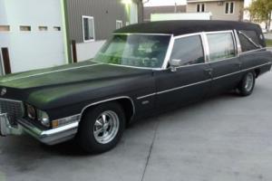 1972 Cadillac Fleetwood Miller Meteor ambulance combo car