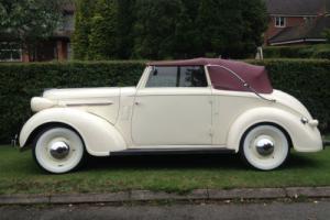 rare rare CHRYSLER DROP HEAD CONVERTIBLE 1937 pre war VERY NICE CAR