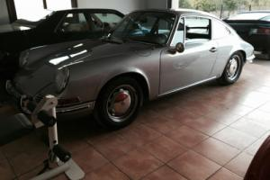 Porsche 912 1969 manual silver LWB coupe