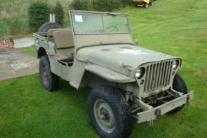 willys mb jeep 1945 WW2 ford gpw