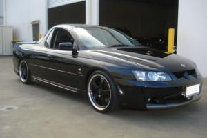 """2003 VY HSV Maloo Black UTE 5 7LT V8 260KW Automatic With 19"""" Simmons Wheels"""