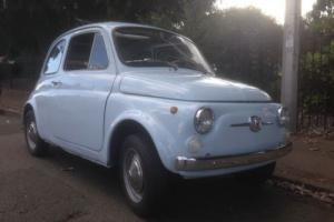 CLASSIC FIAT 500 F 1967 ICONIC MINI ITALIAN CAR NOT 600 126