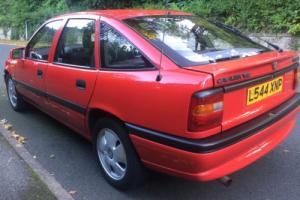 1993 VAUXHALL CAVALIER CESARO A RED RED TOP V6 Photo