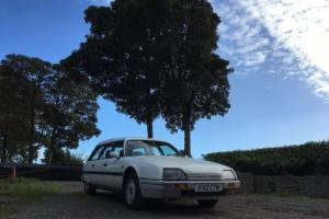 1990 CITROEN CX 25 DTR TURBO DIESEL ESTATE WHITE