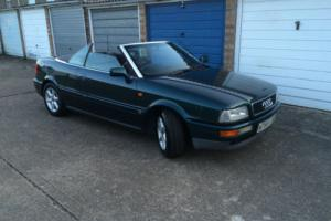 1994 AUDI CABRIOLET GREEN Photo