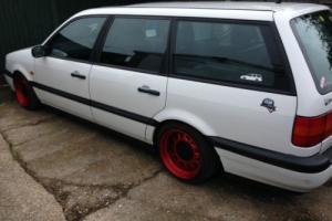 1995 VOLKSWAGEN PASSAT L WHITE ESTATE G60S BANDED