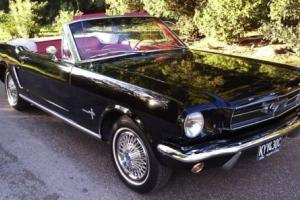 1965 Ford Mustang Convertible and Coupe Wedding car hire - American Classic Photo