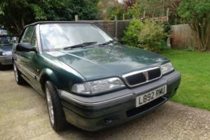 1994 HONDA rover 216 cabriolet- power hood Photo
