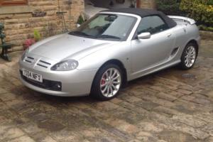 mg tf 135 very low mileage 20k. Stunning high spec. leather Mgf
