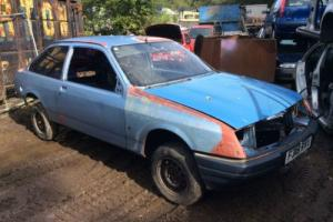 Ford Sierra 3 Door Mk1 Rolling Shell. Cosworth Xr4i stock car lightning rod