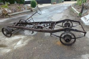 1934 Austin 12/4 light twelve rolling chassis with latest v5c transferable reg Photo