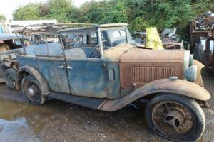 1933 austin heavy 12/4 tourer with latest v5c restoration project rare car Photo