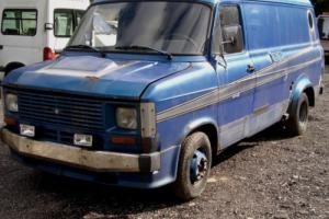 mk2 ford transit van 80,s custom van left hand drive import restoration project