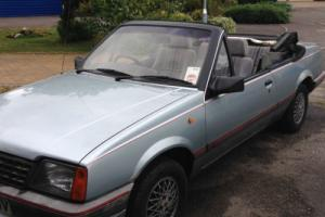 Vauxhall Cavalier Convertible Cabriolet 1.8i 1987 E635GNV