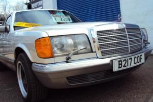 "Mercedes W126 380 SE V8 Petrol -1985 Year ""B"" Reg- £1,899 Photo"