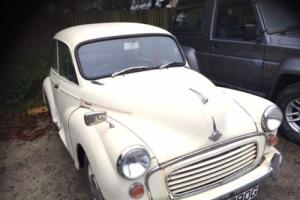 1969 MORRIS MINOR 1000-New Mot- very sound car recent engine rebuild- delivery