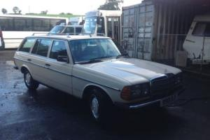 mercedes w123 estate Photo