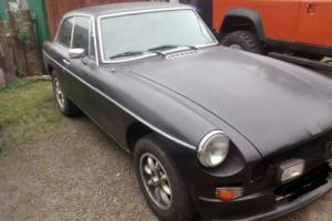 1980 MG BGT BLACK