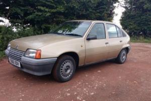 1987 VAUXHALL ASTRA MK2 1.3L *GREAT RETRO DAILY* 67,000 MILES!!!