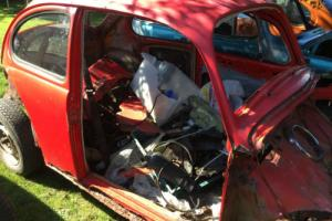 Vw Beetle Barn Find Classic Bug Volkswagen restoration Project Photo