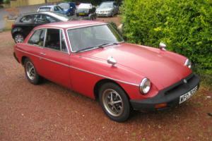 1977 MG B GT