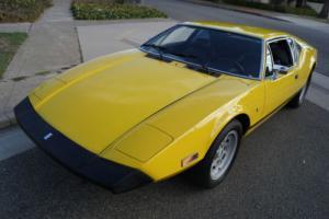 1974 De Tomaso Pantera L UNMOLESTED STOCK 351C WITH 31K ORIGINAL MILES!