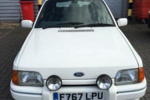 ford escort cabriolet 1.6 mk4 covertible, may swap