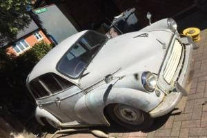 Morris minor 4 door saloon 1962 for spares / repairs NO RESERVE
