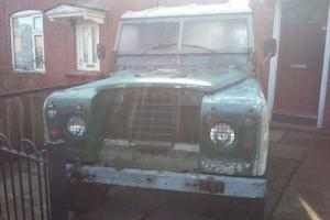 Land Rover Series 3 88 2.25 diesel with overdrive