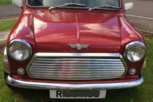 Rover Mini Cooper 1.3Mpi Classic Nightfire Red low mileage since engine re-build