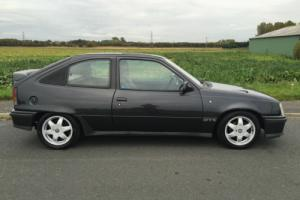 1990 VAUXHALL ASTRA GTE 2.0 16V, BLACK, FULL SERVICE HISTORY, 4 OWNERS Photo