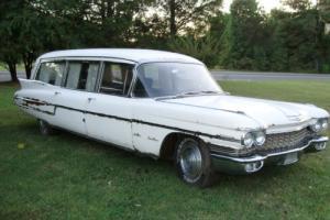 1960 Cadillac Hearse Ambulance Combination