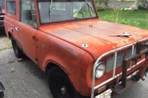 1963 International Harvester Scout 80