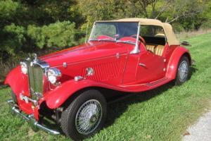1981 Replica/Kit Makes 1952 MG TD