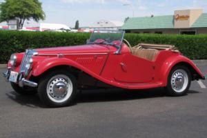 1954 MG T-Series