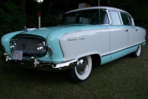 1955 Nash Ambassador Custom 4dr