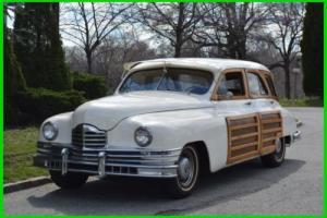 1948 Packard Station Wagon Tan
