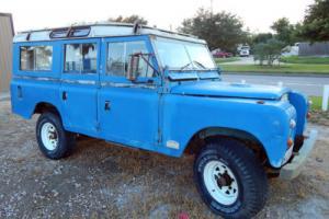 1972 Land Rover Defender 109 Station Wagon