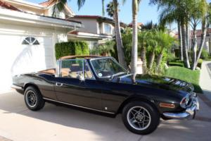 1973 Triumph Stag, RH Drive, 4spd V8, Soft Top, **NO RESERVE Photo