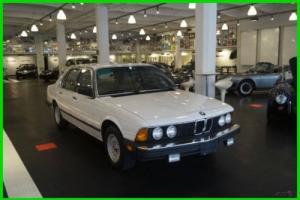 1983 BMW 7-Series  Luxury Sedan