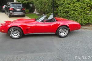 1975 Chevrolet Corvette convertible