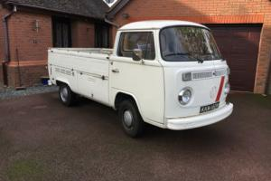 VOLKSWAGEN TYPE 2 PICKUP BAY WINDOW SINGLE CAB 1974 ORIGINAL CLASSIC VW